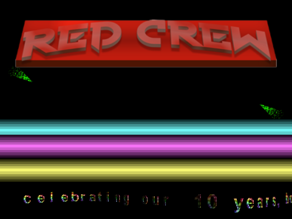 RED Crew 10 years