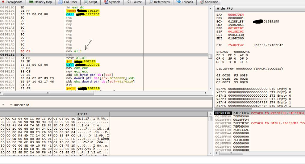 x64dbg patching 0/x - x64dbg - Tuts 4 You