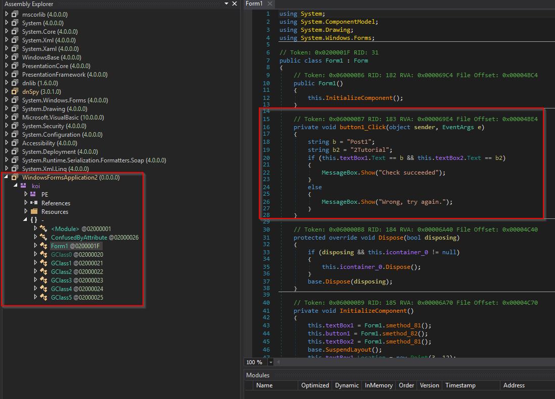 ConfuserEX v1 0 modded - UnPackMe ( NET) - Tuts 4 You